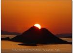 Sun set Volcano